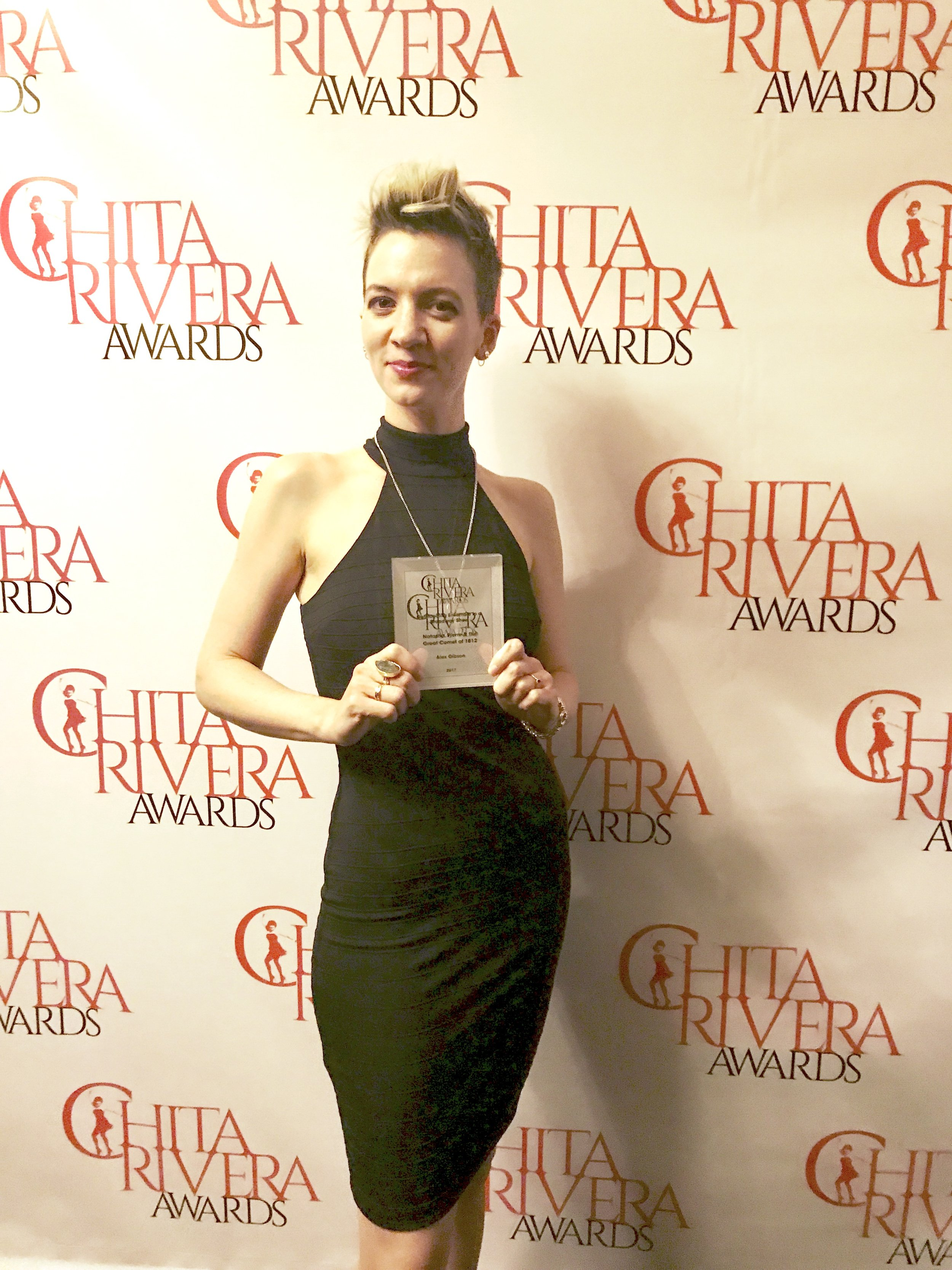 """Natasha, Pierre, and the Great Comet of 1812"" won ""Best Ensemble in a Broadway Musical"" at the 2017  Chita Rivera Awards"