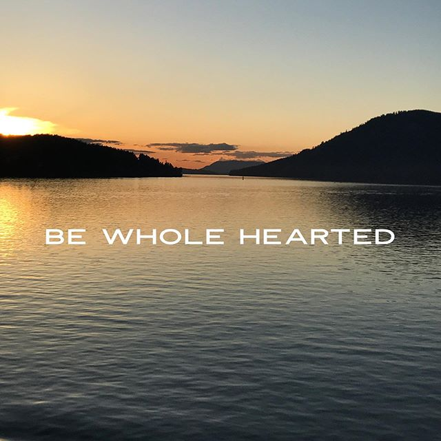 """What does it look like to be """"whole hearted""""? Where are you bringing your whole heart - where are you holding back. God wants whole hearts, he wants us coming with everything we are and everything we have. Whole. Complete. Everything. Listen today for his quiet invitations to wholeness, to whole heartedness.  We can trust him. His faithfulness to us is unwavering. #unwaveringretreat #wholehearted #shereadstruth #jesuscalling #lampandlight #gritandvirtue #bloomwomensministries"""