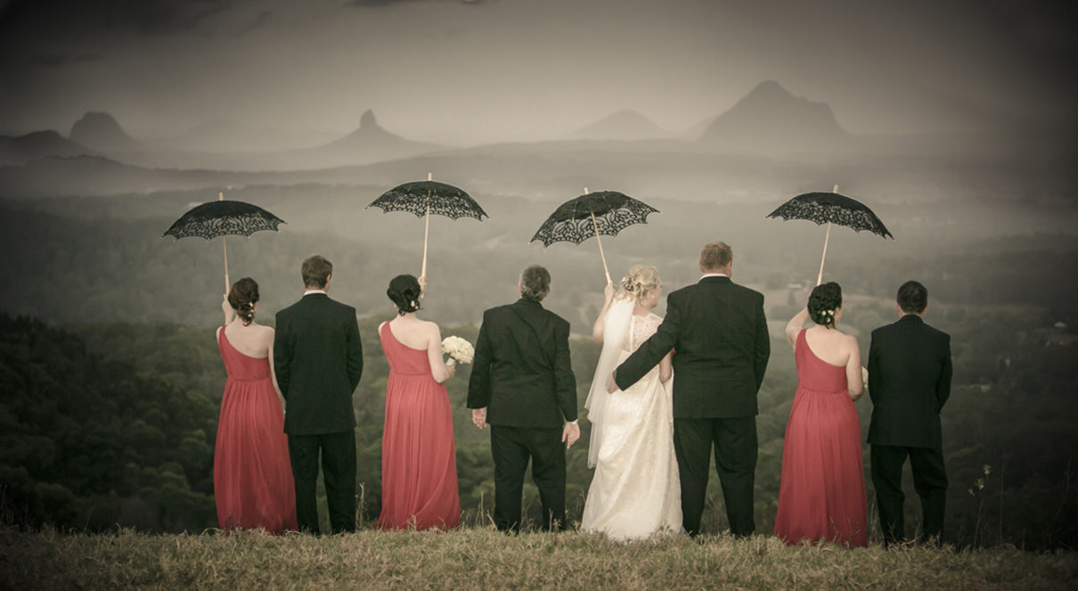 Bridal group with umbrellas.jpg