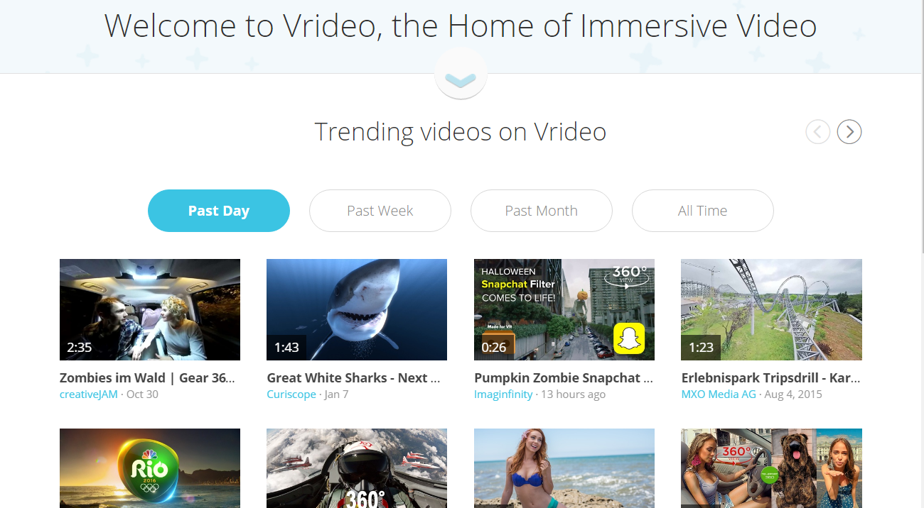 This piece was hit trending status on Vrideo and has been featured several times on VeeR.tv by their curation team.