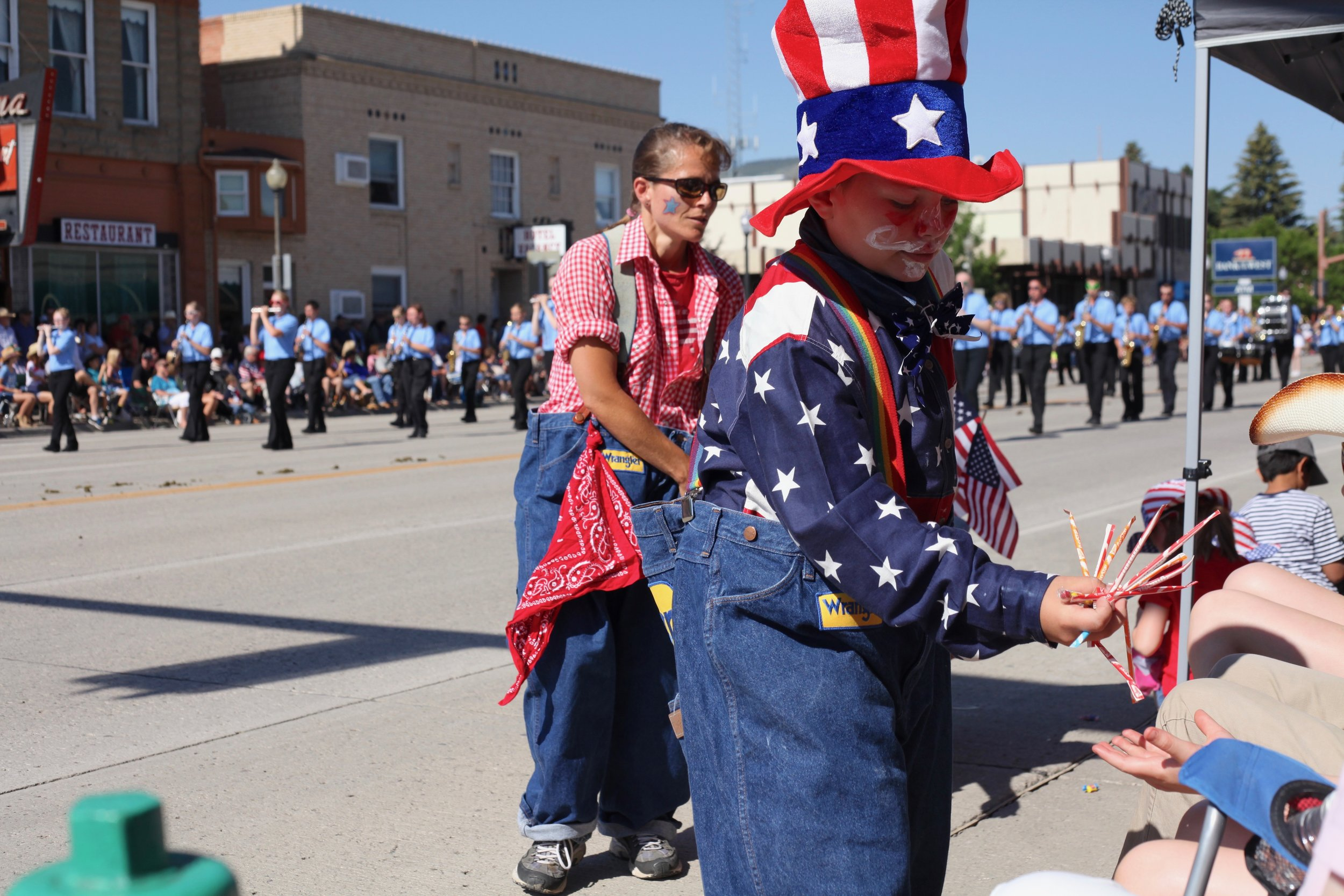 4th of July parade in Cody, Wyoming