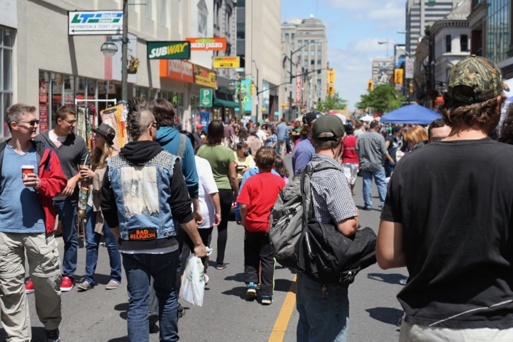Dundas Street Festival in London, Ontario