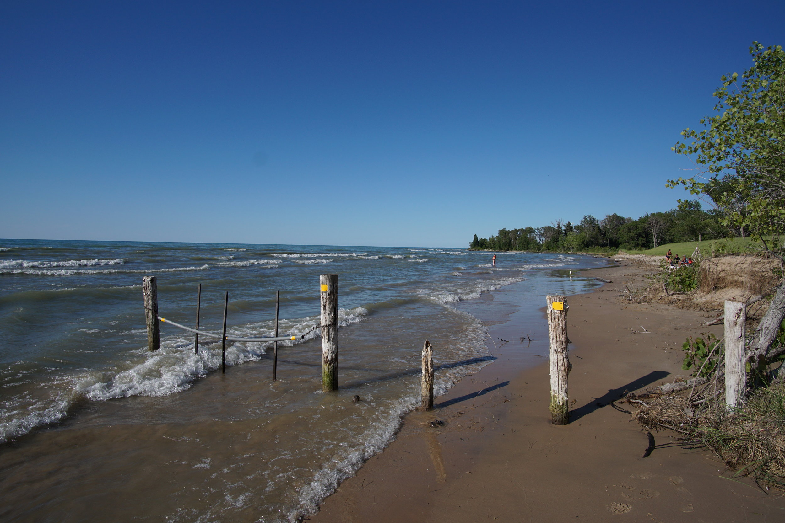 Ipperwash Beach, Lake Huron, Ontario