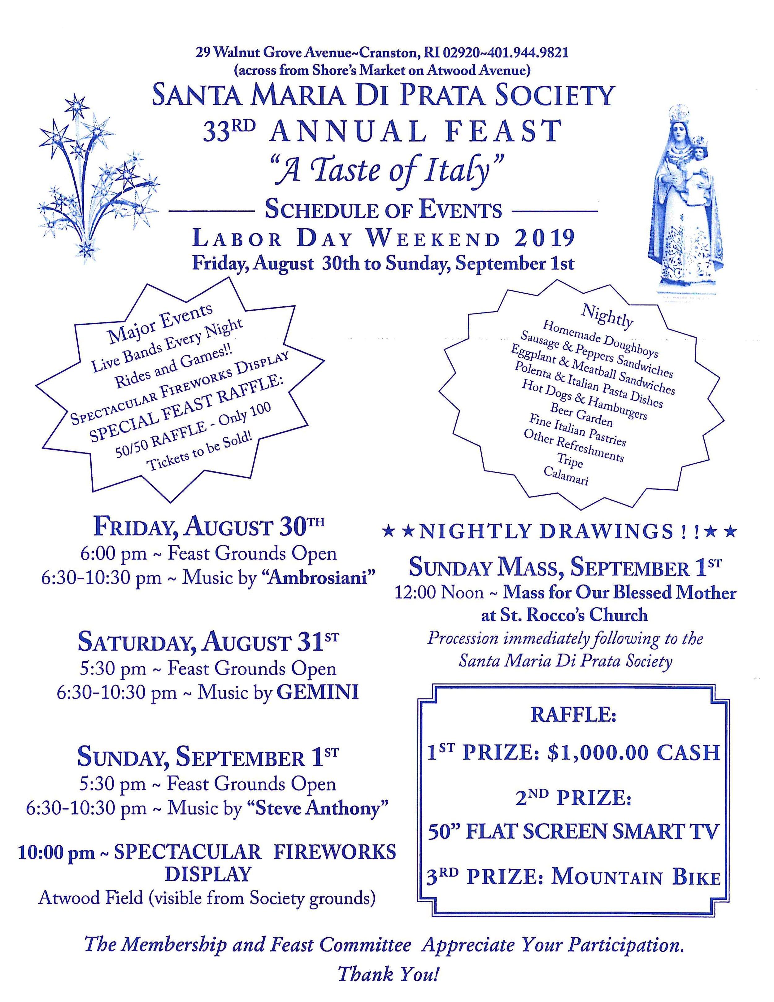 Santa Maria Di Prata Society 33rd Annual Feast.jpg