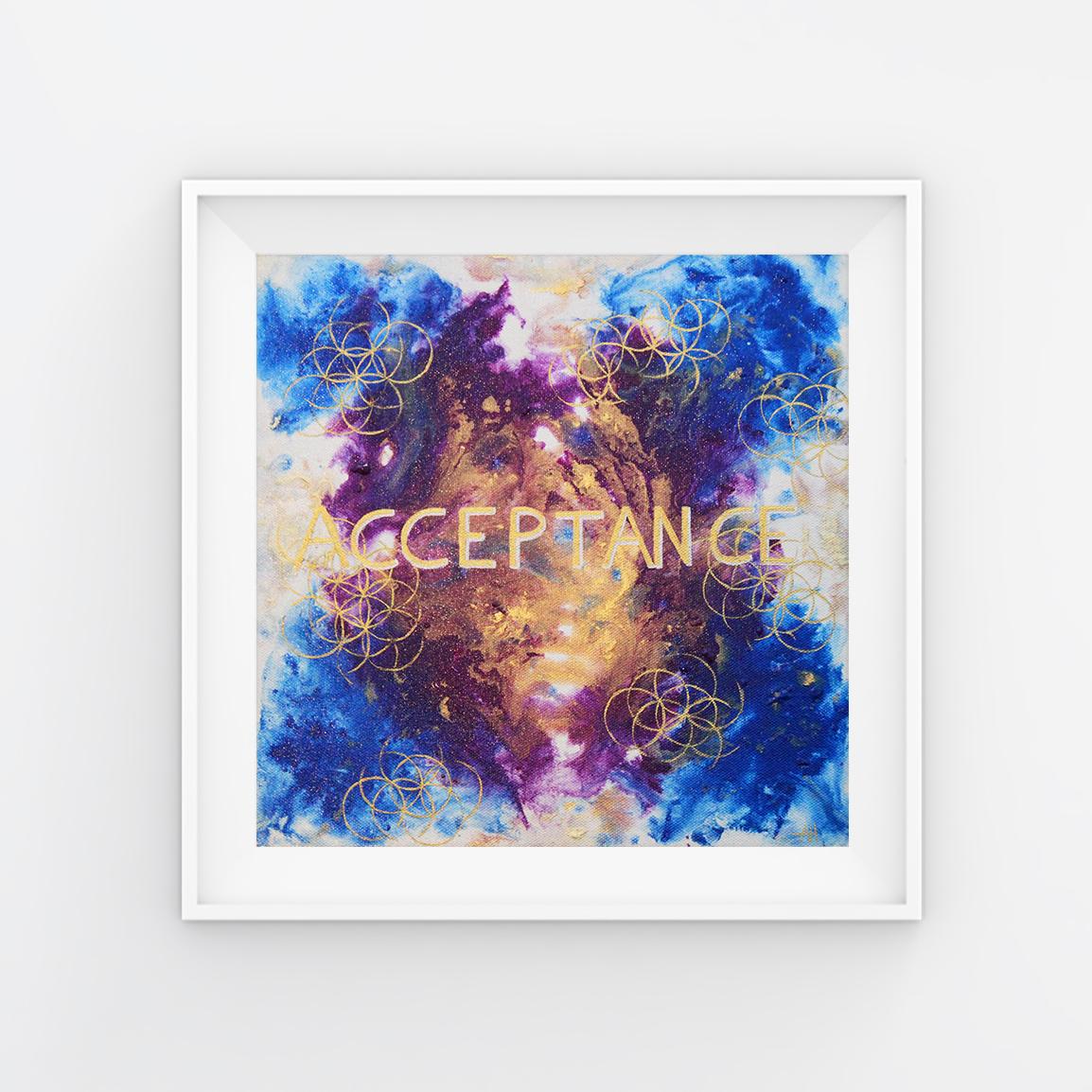 """Acceptance - acrylic on canvas 12x12"""""""
