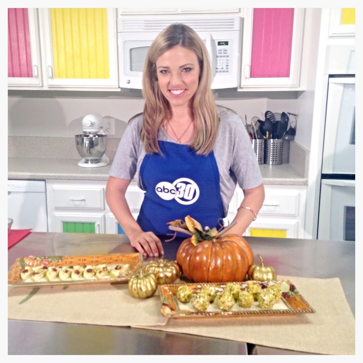 Chef Shayna- Fall Pistachio Appetizers
