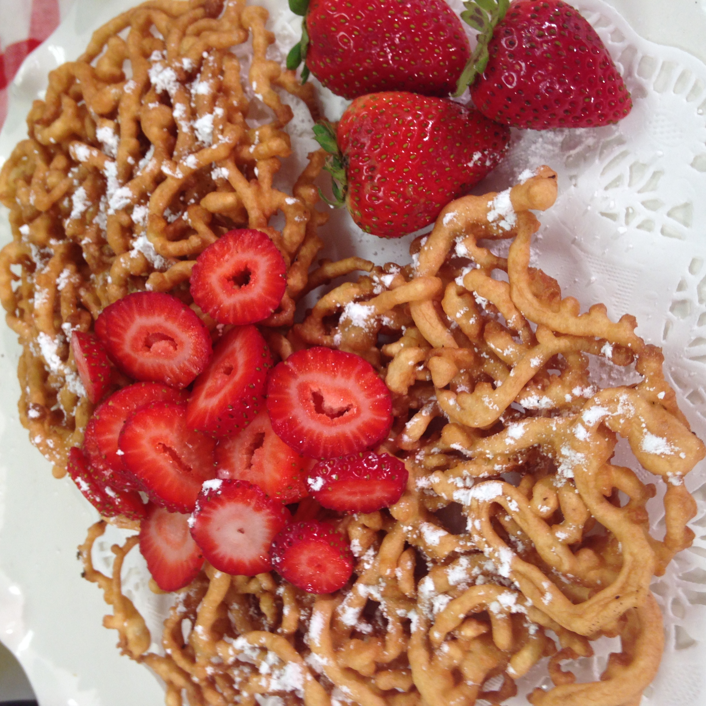 Funnel Cakes at Home- ChefShayna.com