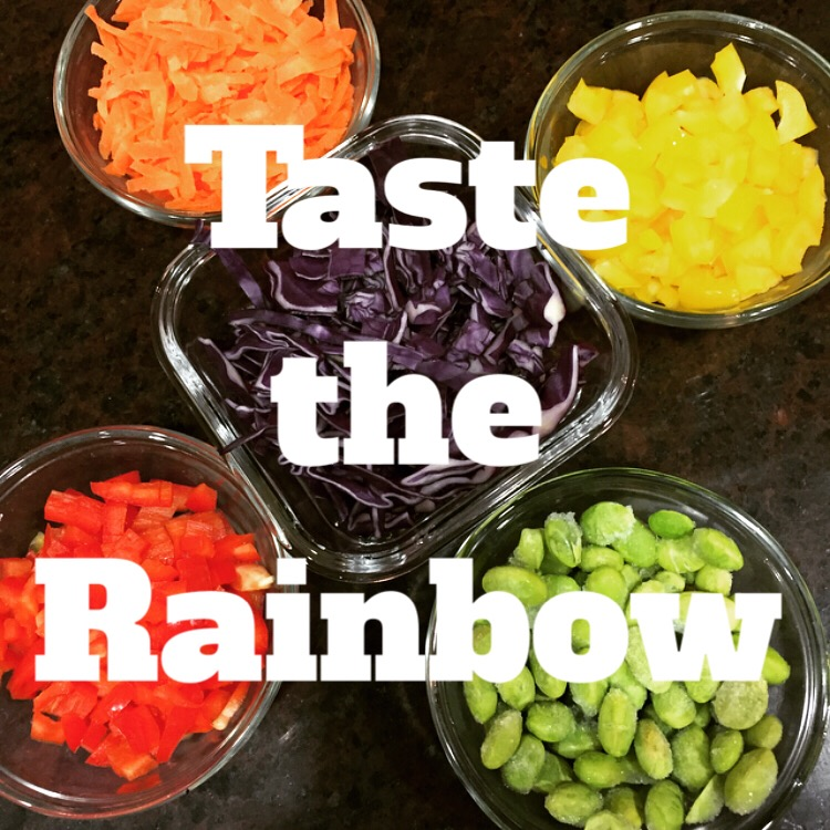 Taste the Rainbow & Eat more veggies- Easy & Delicious recipe on ChefShayna.com