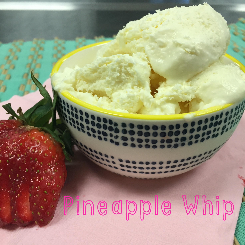 Disney inspired Pineapple Whip on www.ChefShayna.com