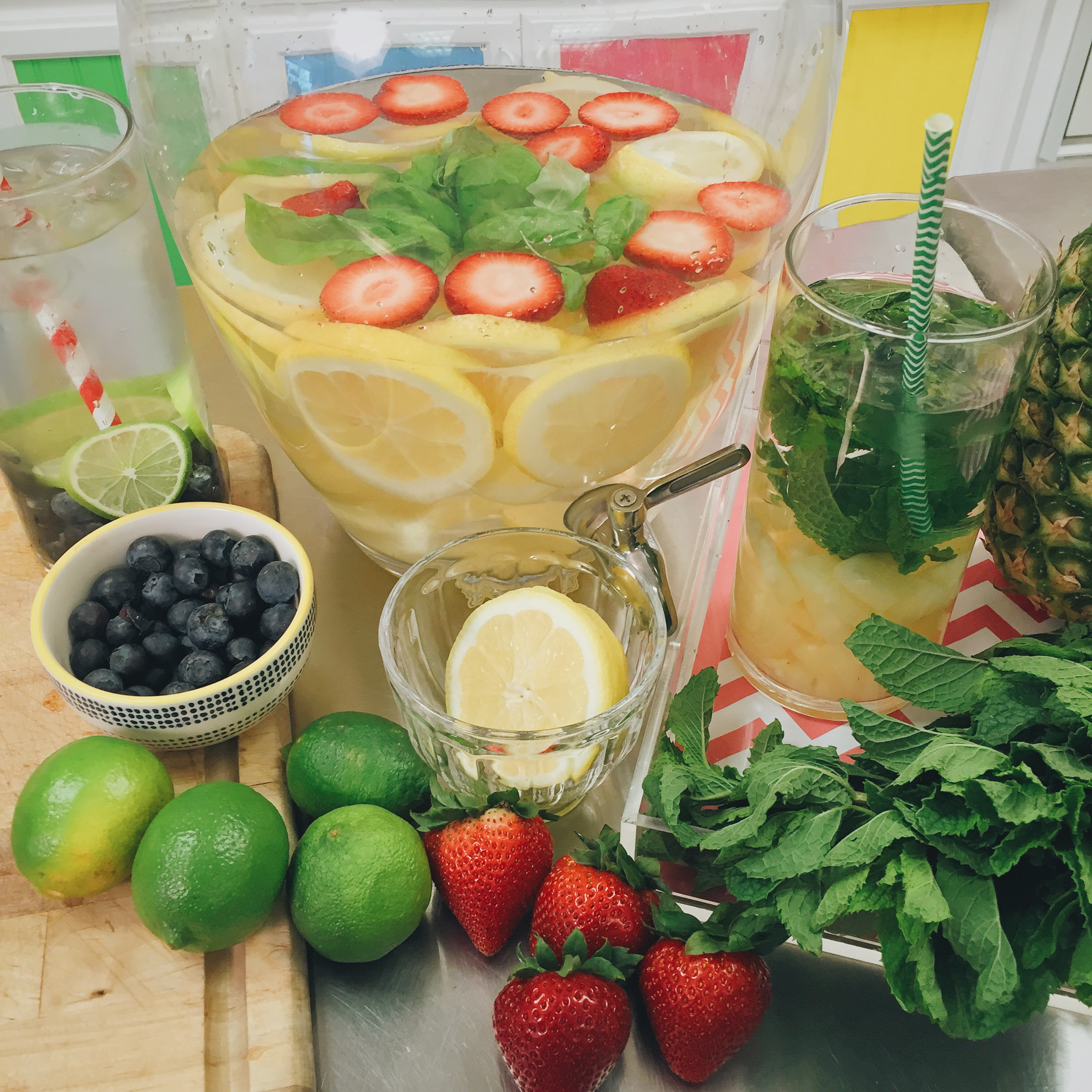 Infused Water tutorial on www.ChefShayna.com