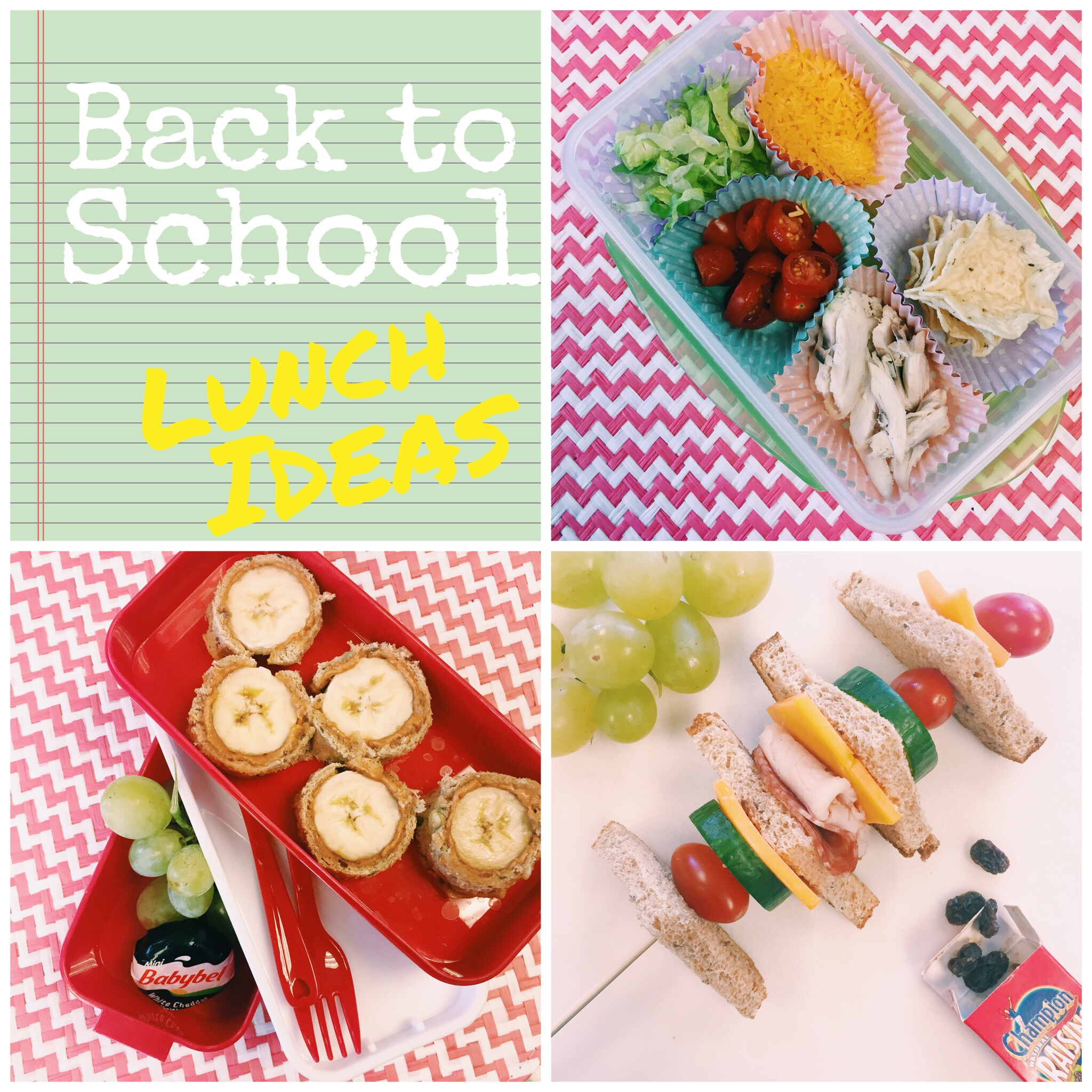 Prepare school lunches on Sunday, get the kiddos involved to make it easier. Tips for Lunches.jpg