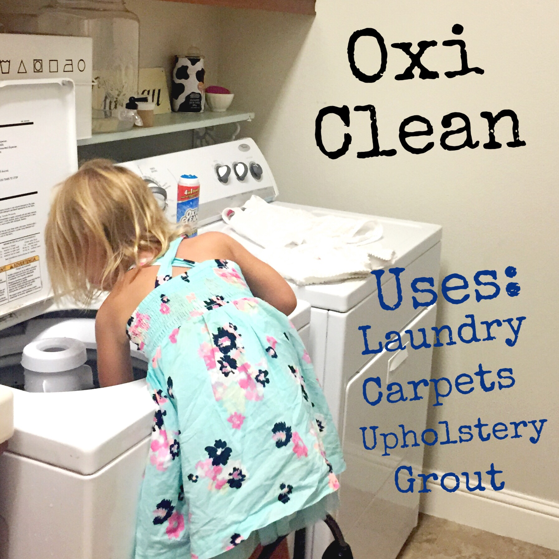 """I keep an empty bottle of the Gel Stick and let 'A' help me """"pre treat"""" stains before throwing in the washer."""