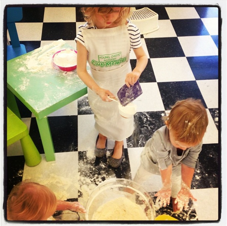 Okay, maybe don't let them get this messy… but do prepare mentally to allow them to make a mess as part of the exploration process.