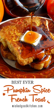 French Toast is always a great idea!  Recipe here