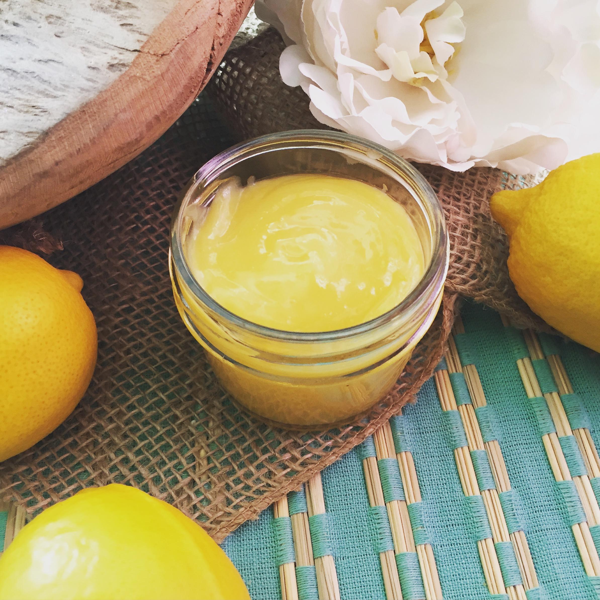 Lemon Curd- www.ChefShayna.com
