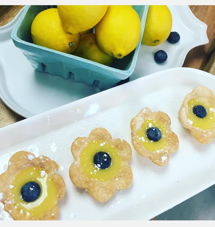 Lemon Curd Tartlets- www.ChefShayna.com