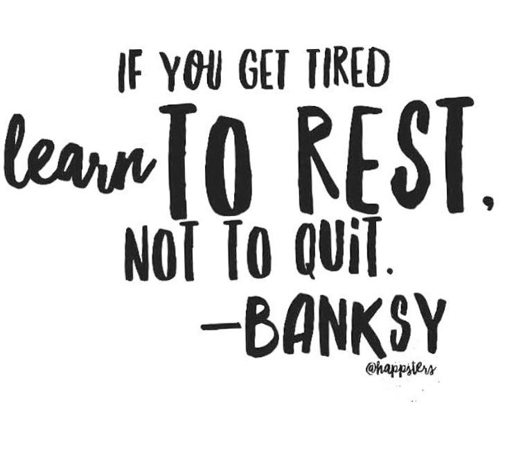 Take time to refresh