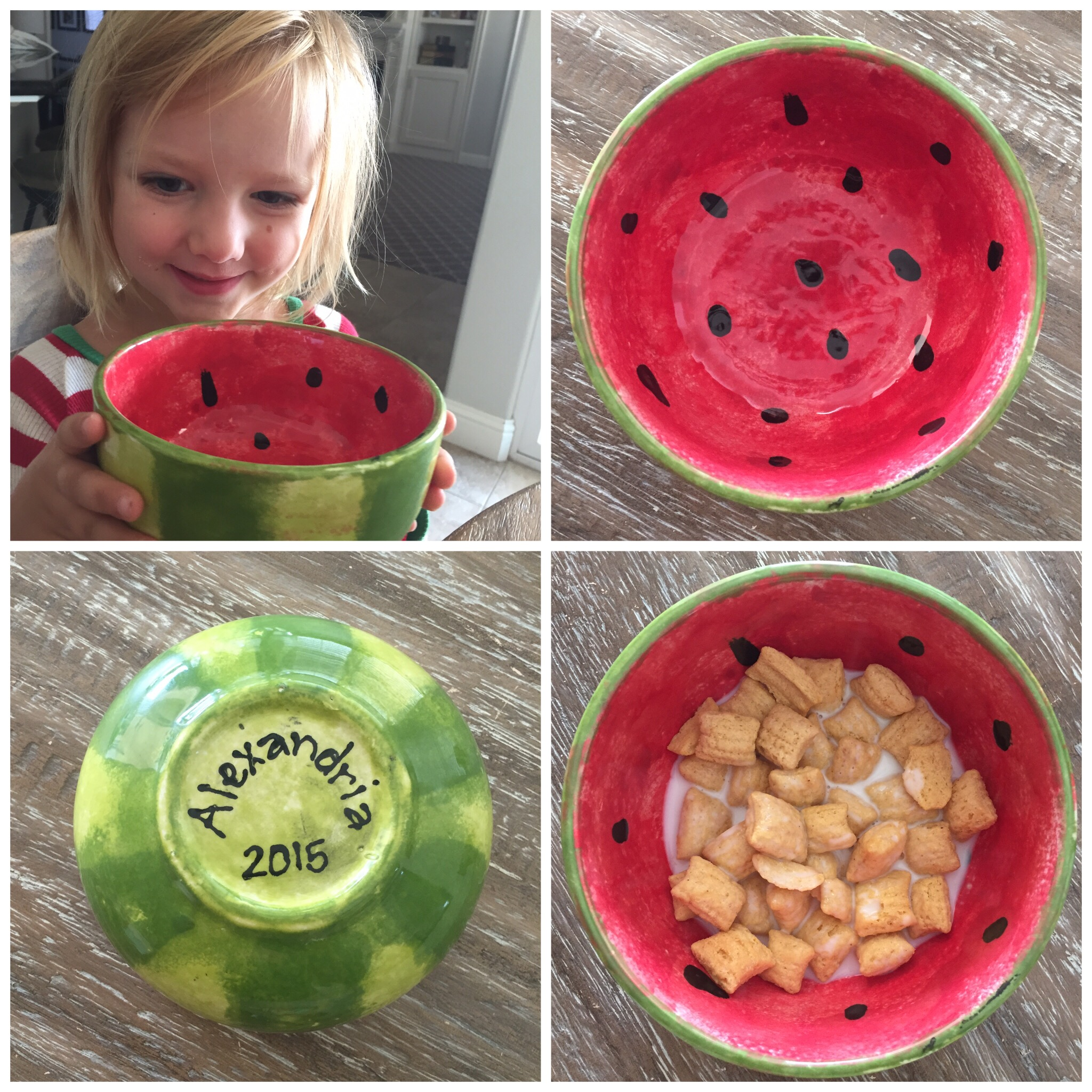 Planning regular Mommy Daughter Dates- Project 1: Watermelon Bowl. www.ChefShayna.com