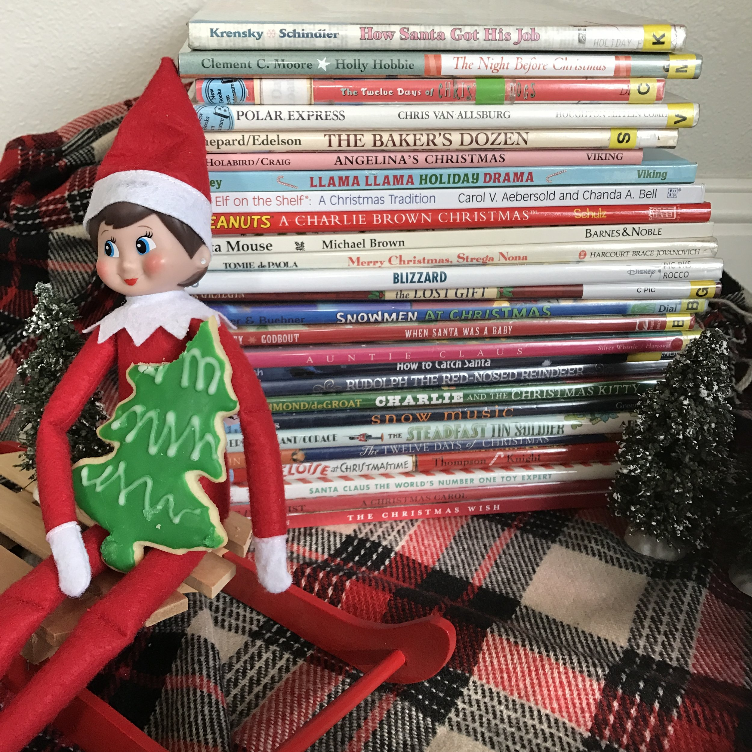 Elf on the Shelf Book Advent- www.ChefShayna.com