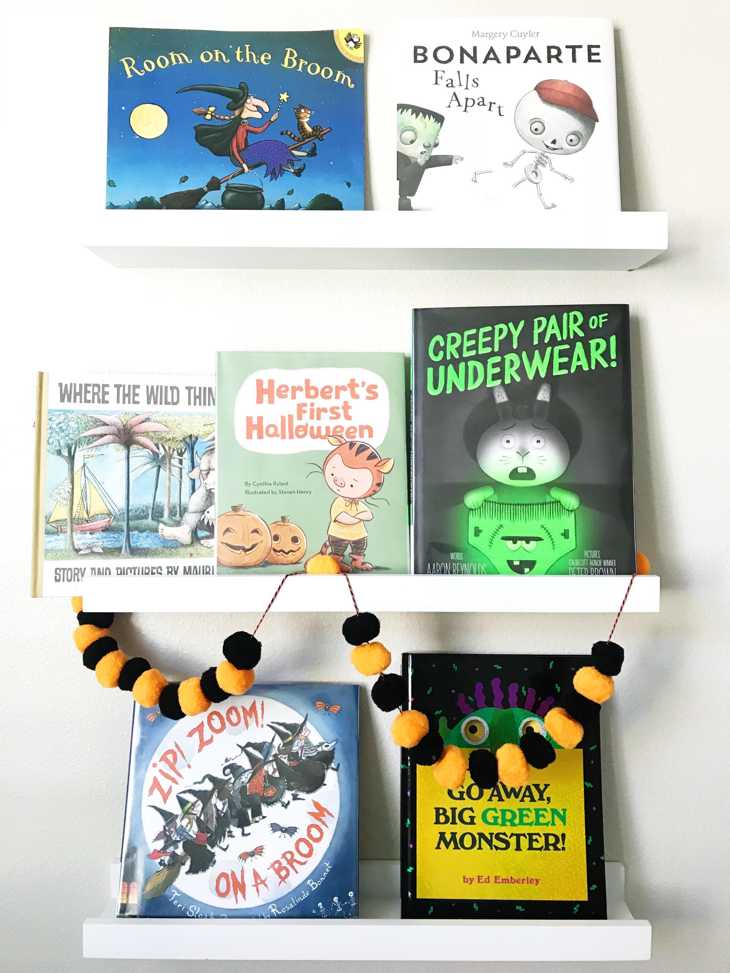 Great Halloween Books for kids- www.ChefShayna.com