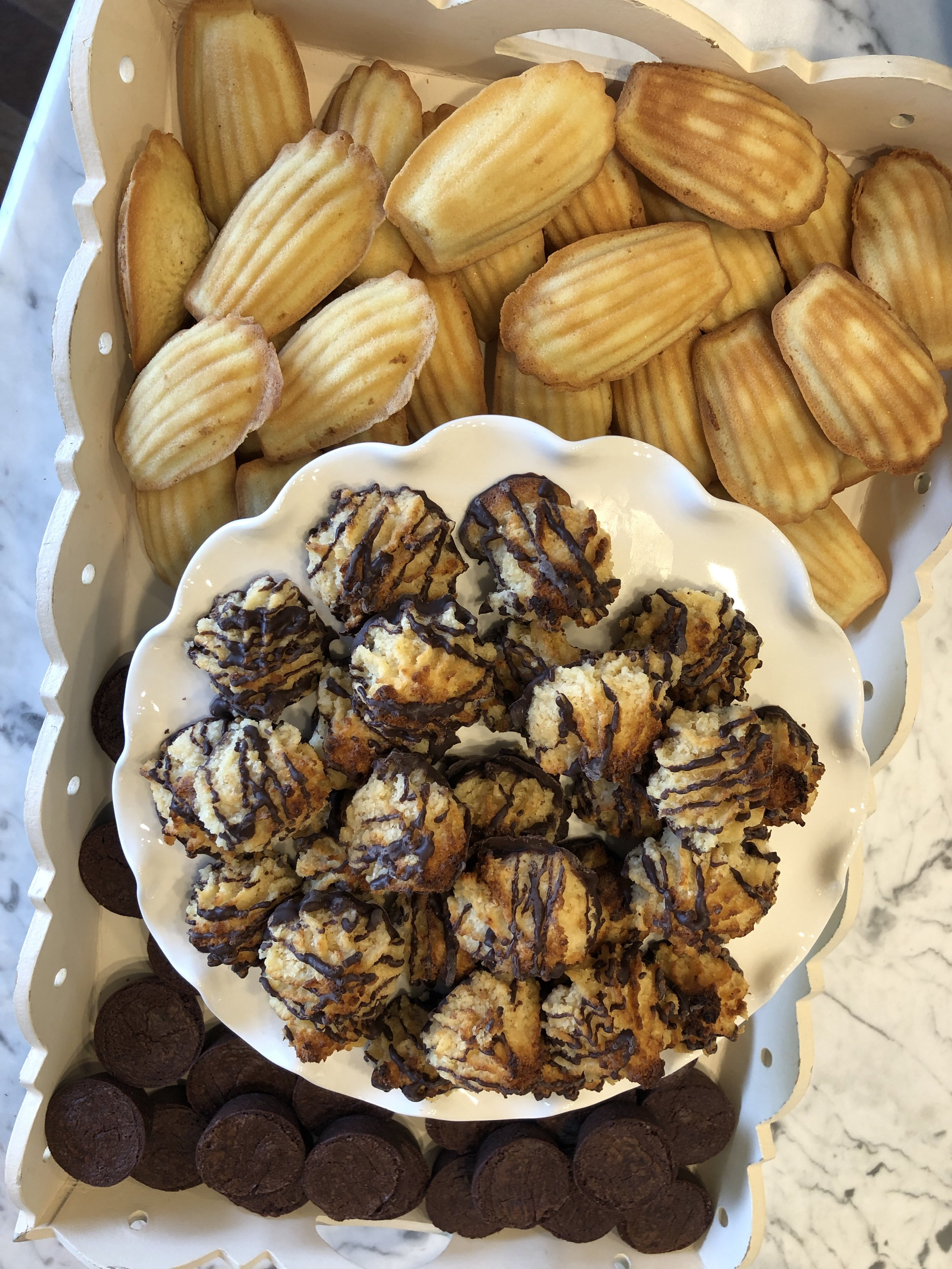 A Ladies' luncheon- the sweet treats. Menu & recipe guide on www.ChefShayna.com