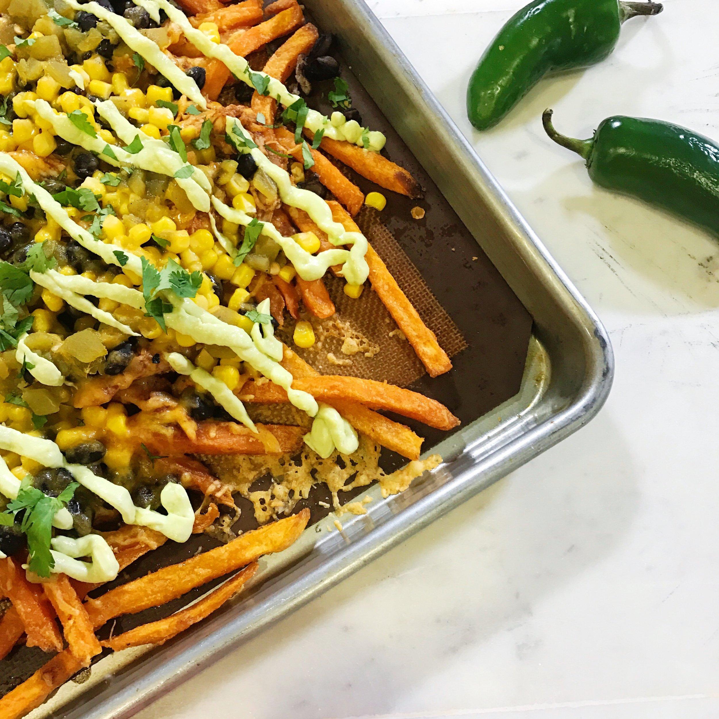 Cowboy Loaded Fries- www.ChefShayna.com