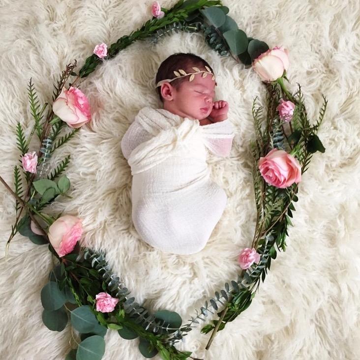 baby photo, caroline lily -www.ChefShayna.com