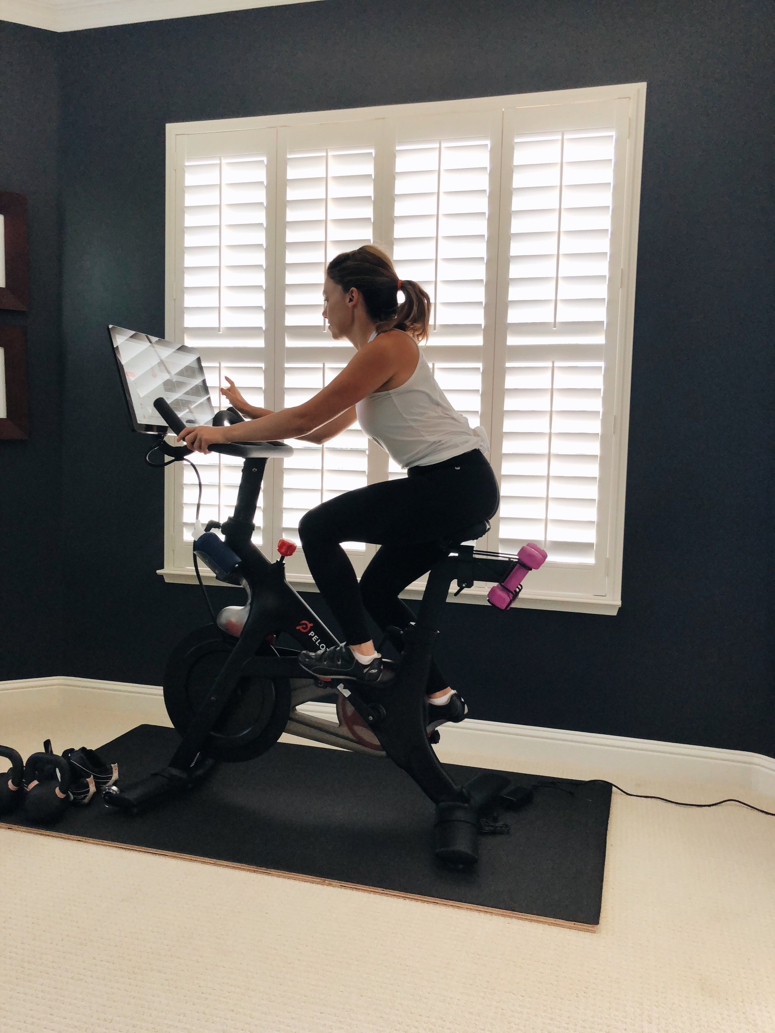 A workout on demand is perfect for busy mamas