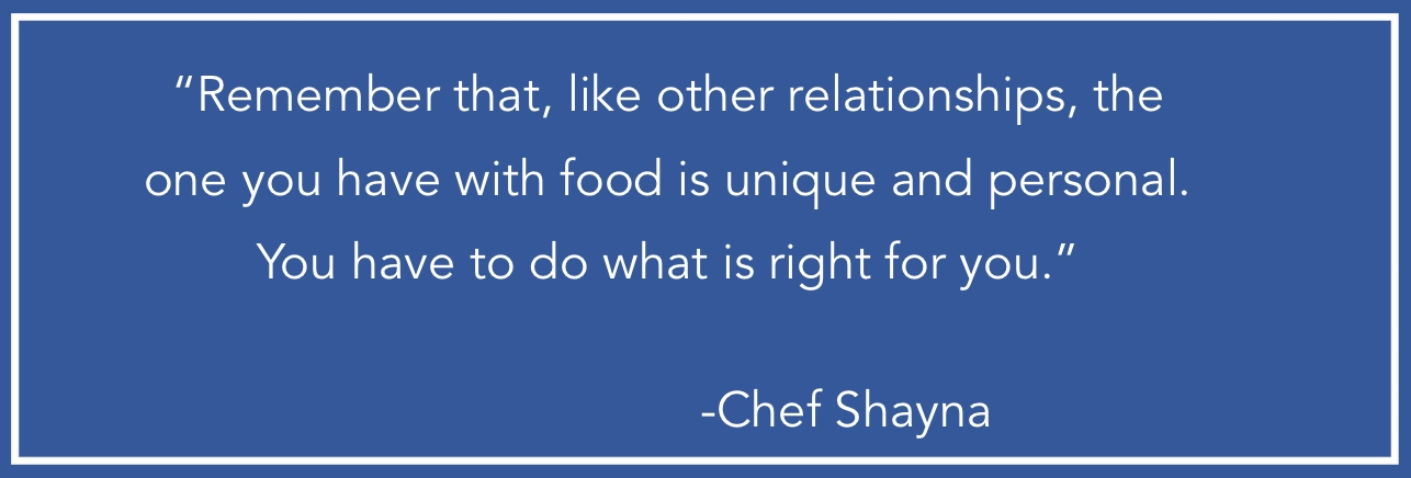 author quote, Food For You