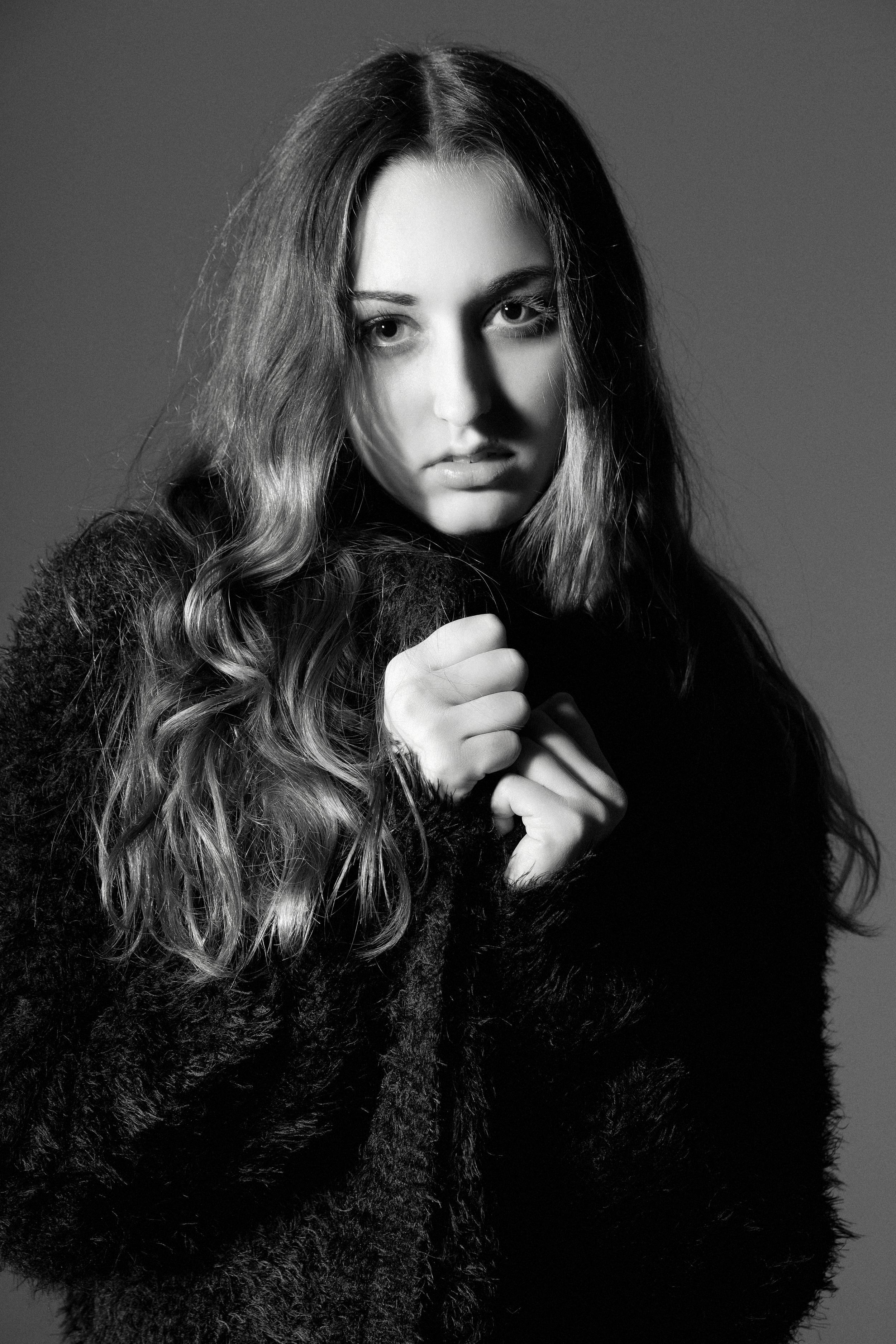 Kalika Postlethwait Headshots from Orange Models/Photographer: Roberto Vazquez