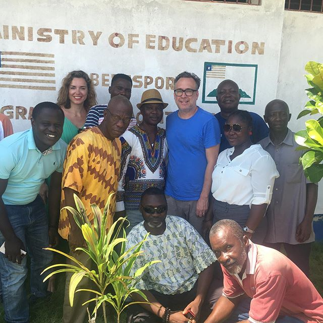 Meetings at the ministry of education's headquarters in Grand Cape Mount County, discussing potential ways of helping the volunteer teachers of elementary schools to receive formal teacher training. @education is the innovation #crossculturalcare #globalc3  #drmontana #nonprofit #liberianfood #grandcapemount