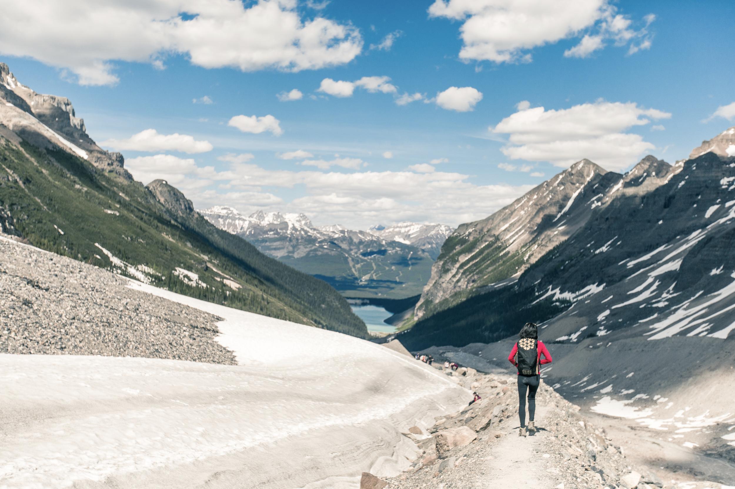 Plain of the Six Glaciers, Banff NP