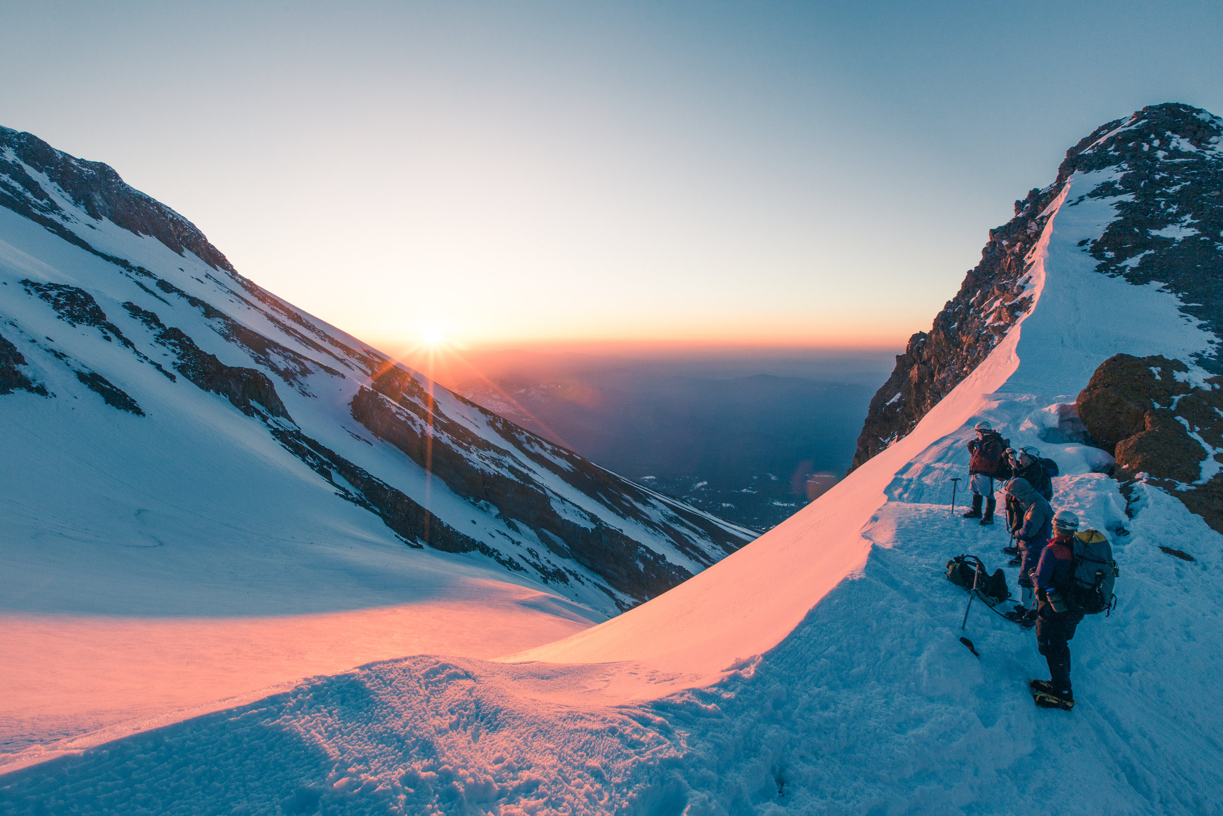 Summit of Mount Shasta, CA