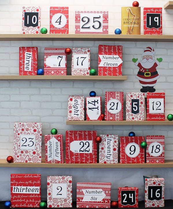 Hachette Aus Books Advent Calendar - drool!