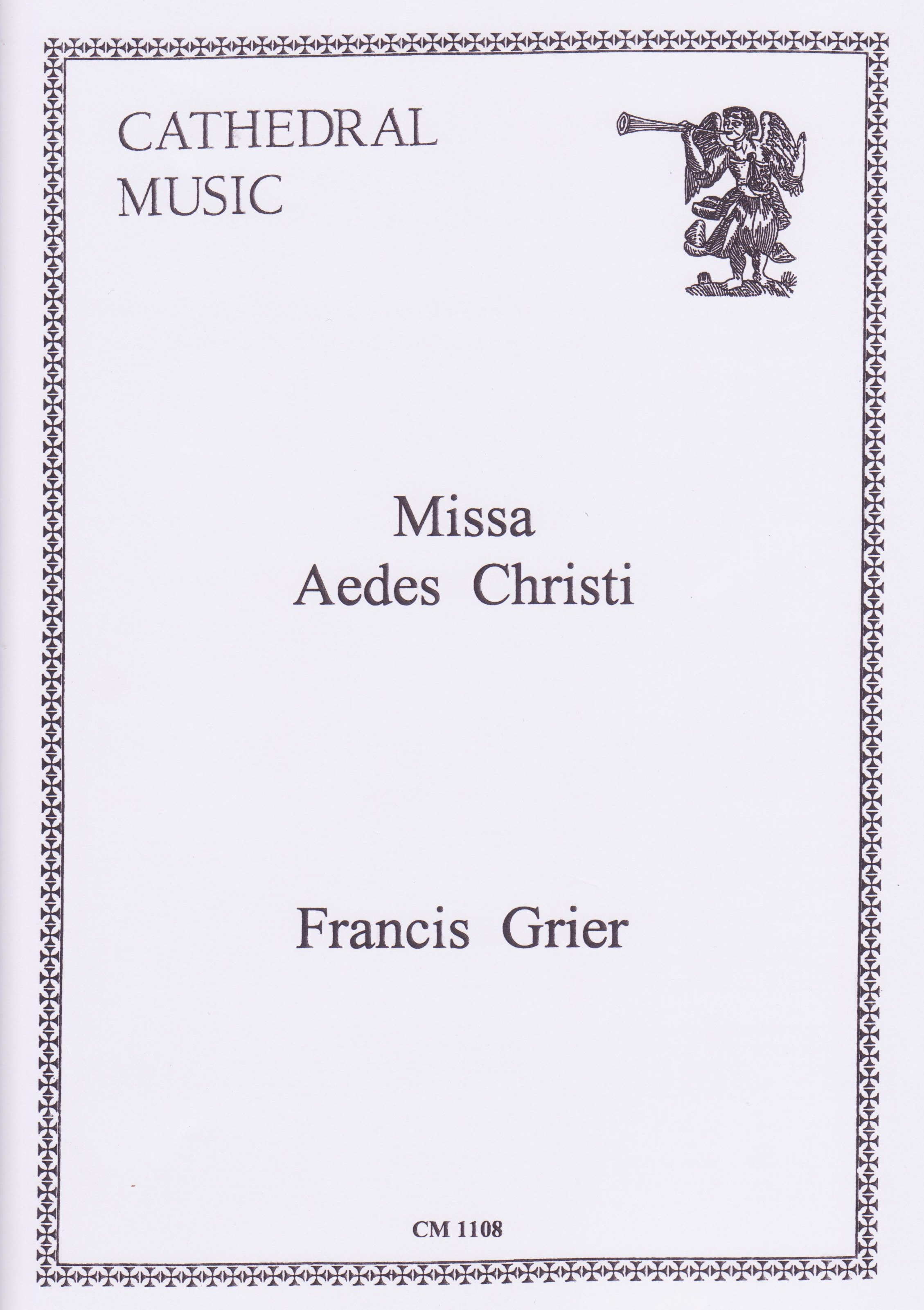 Composer: Francis Grier  Words from the Latin Mass