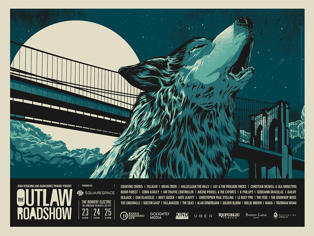 The Outlaw Roadshow - NYC 2014