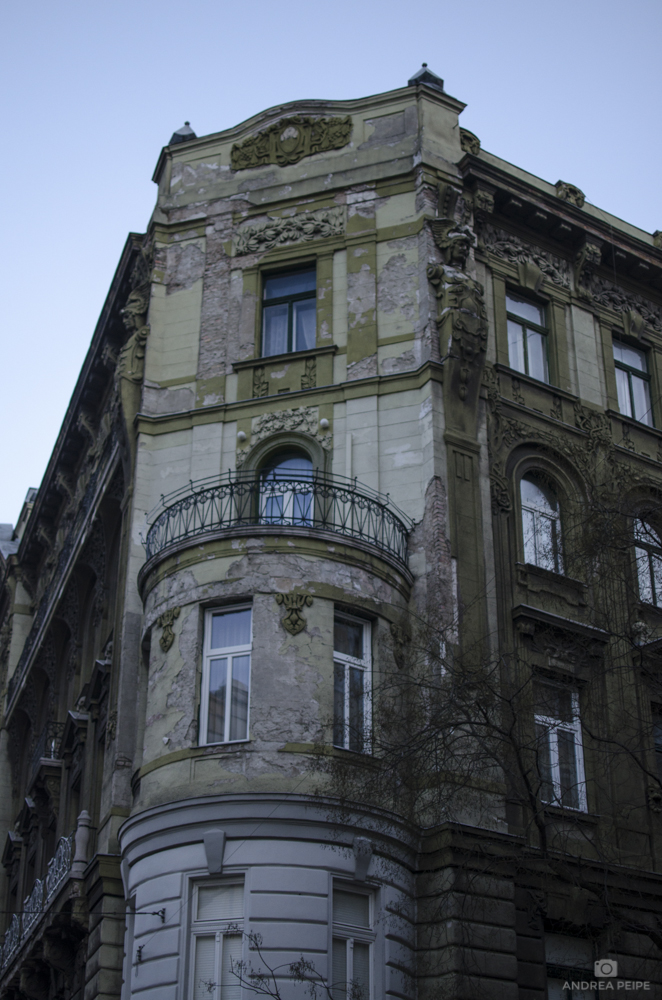 One of the buildings close to our apartment house