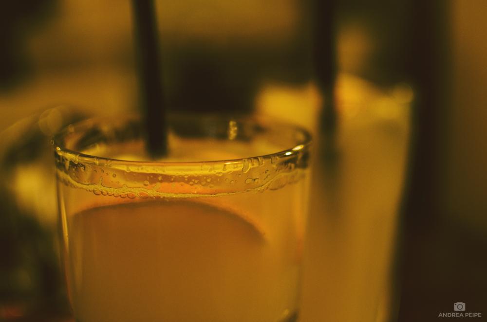 Fresh orange lemonade