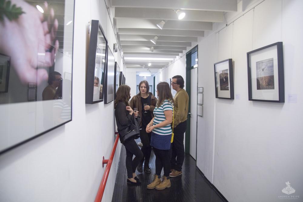 Vernissage at Galerie eigenArt