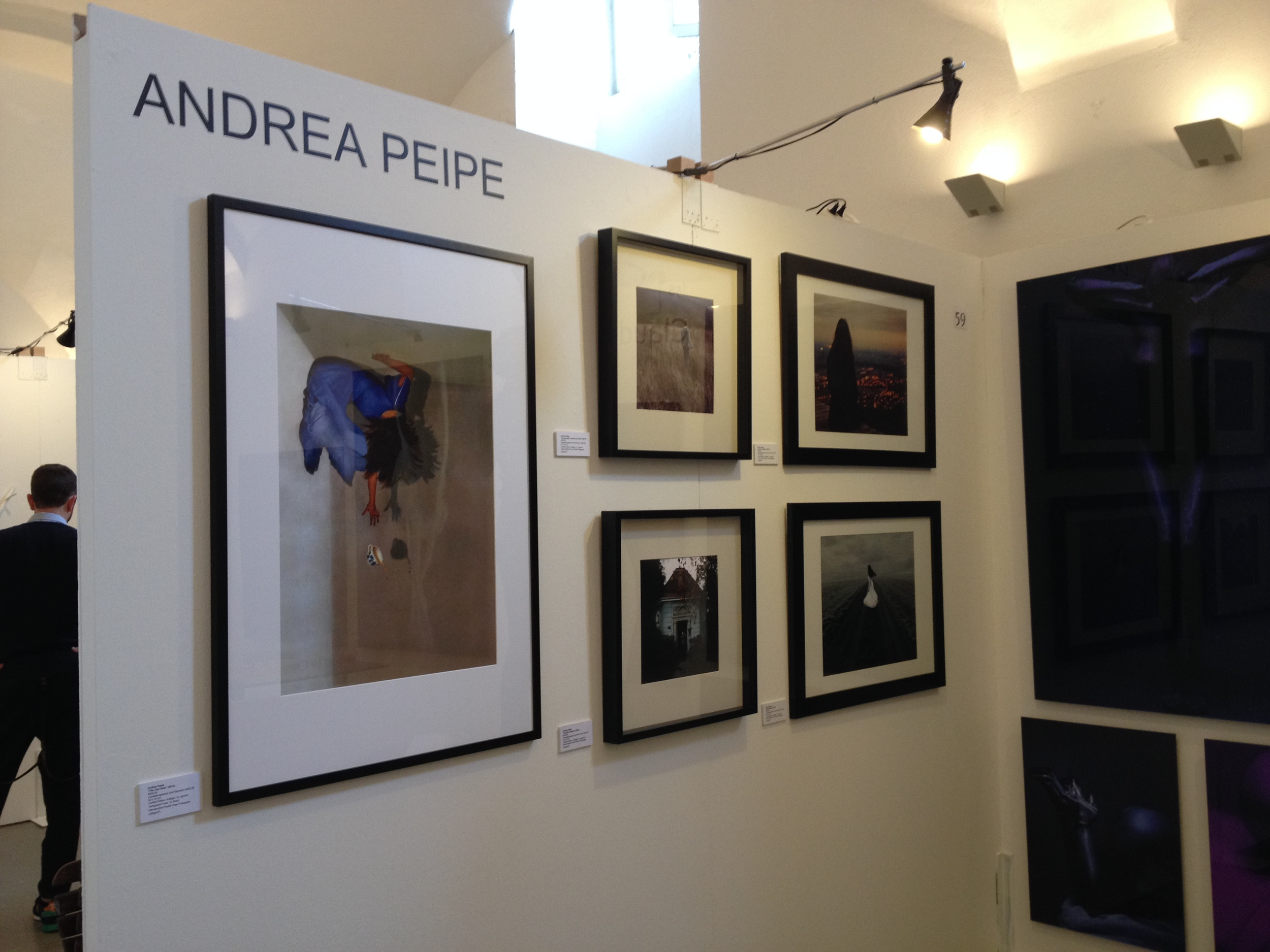 My booth at the ARTMUC 2014