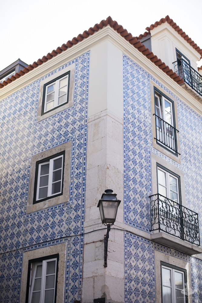 One of the beautiful houses in Alfama, Lisbon
