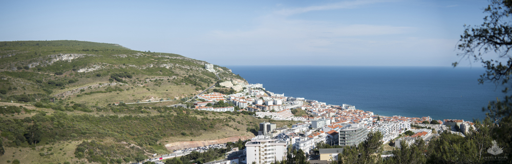 Sesimbra from above