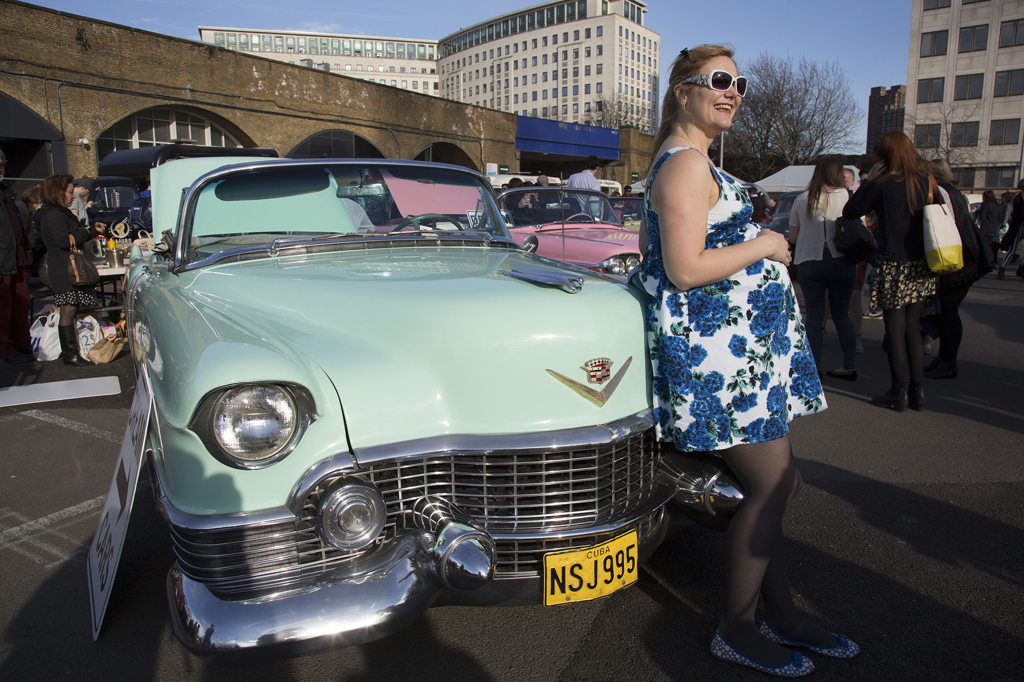 Lovers of all things vintage at theClassic Car Boot Sale.