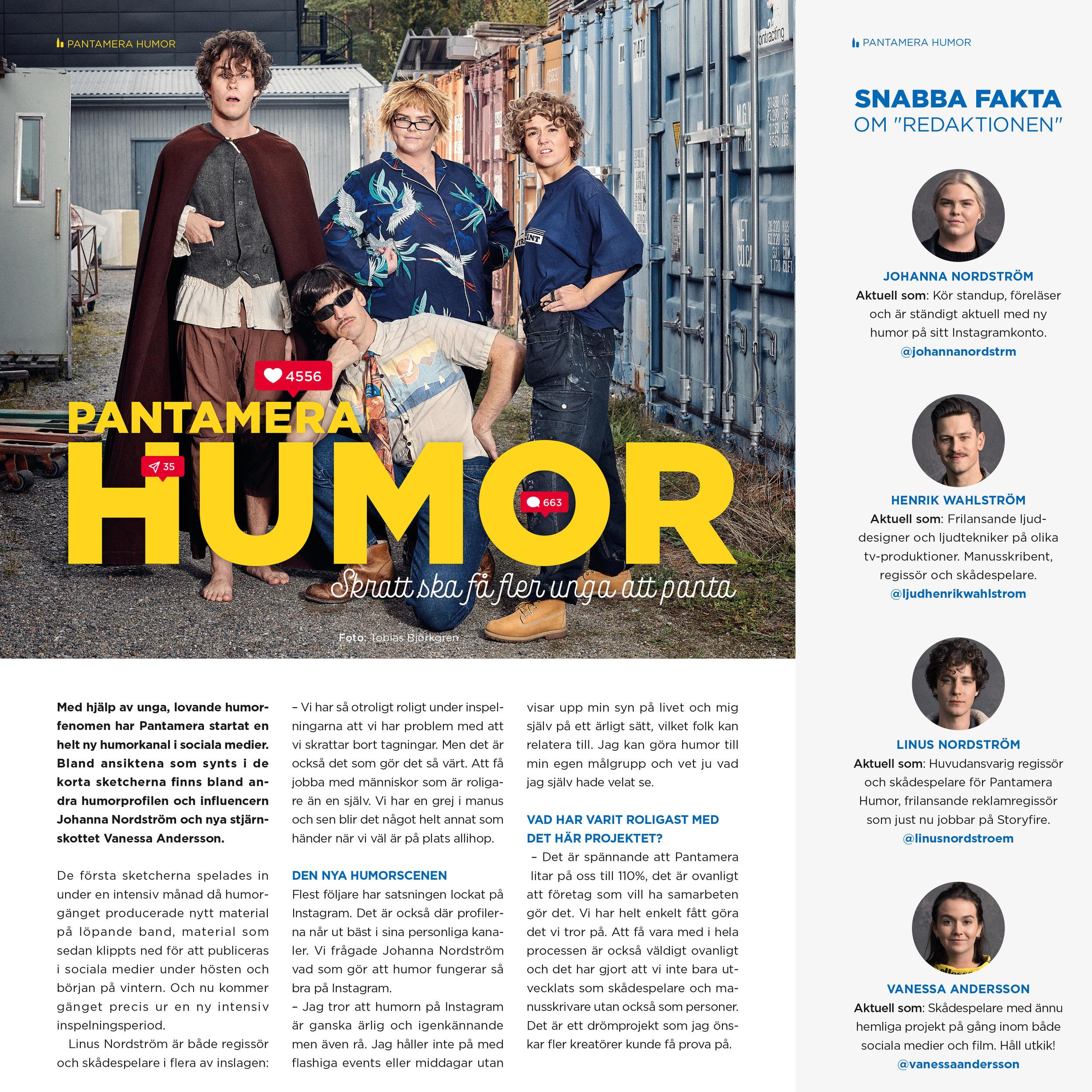 Pantamera Humor group shot