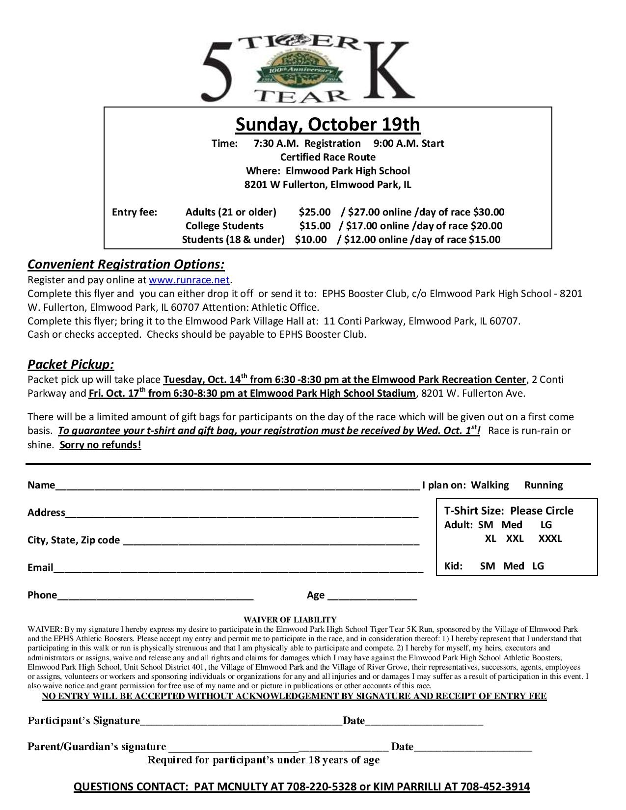 or Register online by clicking the link below:     http://www.runrace.net/findarace.php?id=14292IL&tab=a3