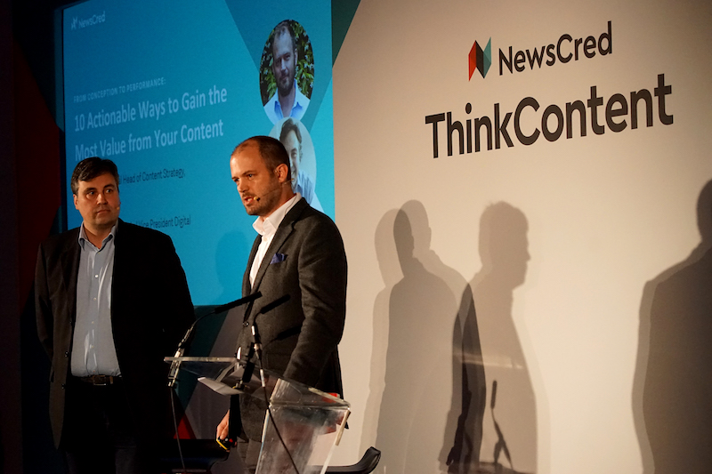 "Keynote: ThinkContent London, 20.11.17 - The theme was ""The Performance Era of Content Marketing,"" and the day's discussions revolved around the challenge facing every marketer today: how to consistently produce high-quality, creative content that engages audiences – and prove to your C-suite that it's driving the business results they want to see.Though that's a challenge, marketers are rising to the occasion. At ThinkContent London, we heard how senior marketing leaders are igniting change in their organizations by proving the value of their creative work. But the day wasn't just about celebrating successes. We also heard battle stories from marketers who overcame seemingly impossible challenges after months – or years – of hard work and perseverance."