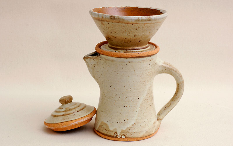 Coffee Pot with Filter Holder