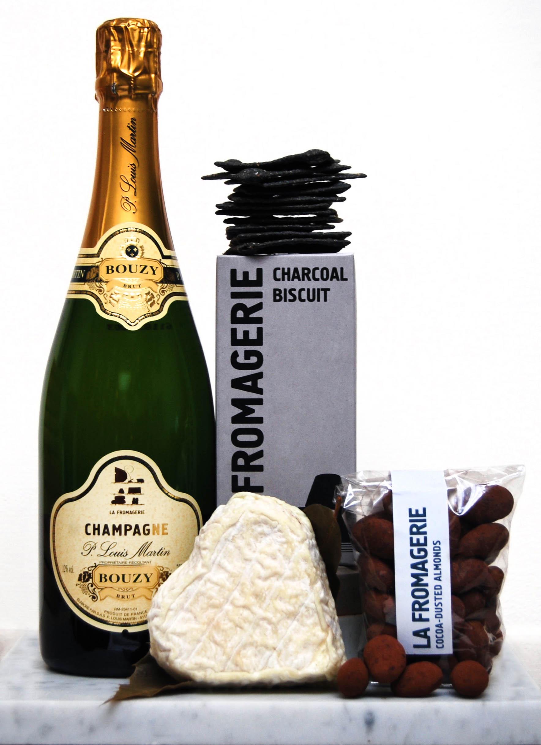 La Fromagerie Valentine's Champagne Gift Box £65