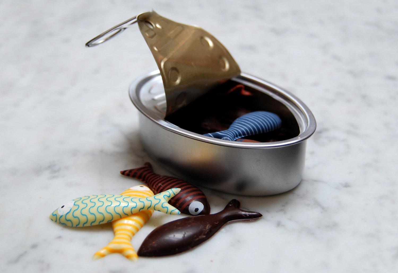 Chocolate 'Sardines'