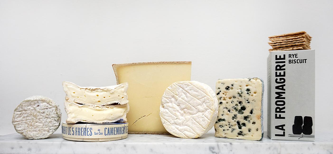 The Raw Milk Cheese Board